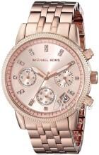 Michael Kors Różowe złoto/Stal w kolorze różowego złota