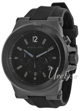 Michael Kors Silicone Chronograph Czarny/Guma