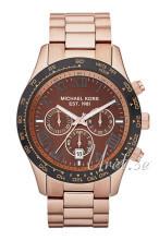 Michael Kors Layton Chronograph Brązowy/Stal w kolorze różowego