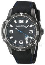 Nautica Analog Czarny/Guma