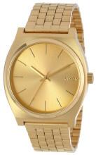 Nixon The Time Teller Żółte złoto/Stal w odcieniu złota Ø37 mm