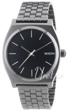 Nixon The Time Teller Czarny/Stal