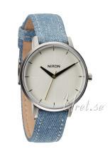 Nixon The Kensington Leather Biały/Tkanina