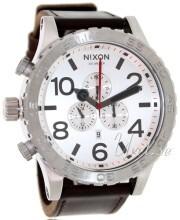 Nixon The 51-30 Leather Biały/Skóra