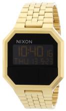 Nixon The Re-Run Czarny/Stal w odcieniu złota