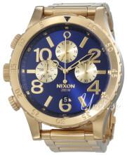 Nixon The 48-20 Niebieski/Stal w odcieniu złota