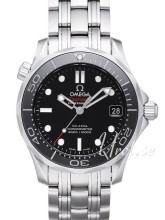 Omega Seamaster Diver 300m Co-Axial 36.25mm Czarny/Stal