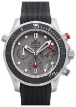 Omega Seamaster Diver 300m Co-Axial Chronograph 44mm Szary/Guma