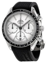 Omega Speedmaster Racing Co-Axial Chronograph 40mm Biały/Guma