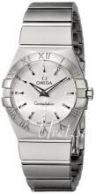 Omega Constellation Quartz 27mm Srebrny/Stal