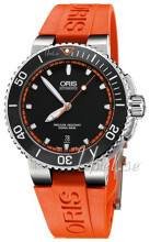 Oris Diving Czarny/Guma