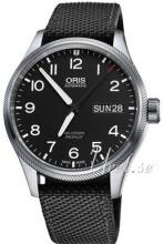 Oris Oris Aviation Czarny/Tkanina