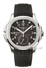 Patek Philippe Aquanaut Travel Time Czarny/Guma Ø40.8 mm