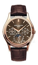 Patek Philippe Grand Complications Brązowy/Skóra Ø37.2 mm