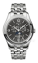 Patek Philippe Complicated Annual Calender Szary/Stal Ø39 mm