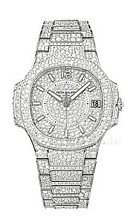 Patek Philippe Nautilus Haute Joaillerie Zestaw diamentów/18 kar