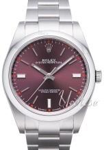 Rolex Perpetual 39 Purpurowy/Stal