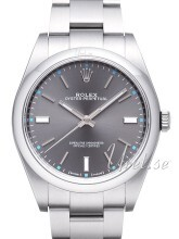 Rolex Perpetual 39 Szary/Stal