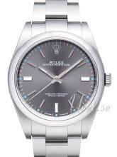 Rolex Perpetual 39 Szary/Stal