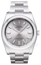 Rolex Perpetual 36 Srebrny/Stal