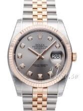 Rolex Datejust 36 Srebrny/Stal