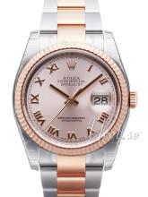 Rolex Datejust 36 Różowy/Stal
