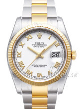 Rolex Datejust 36 Biały/Stal