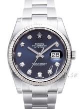 Rolex Datejust 36 Niebieski/Stal