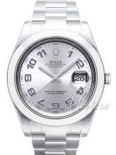 Rolex Datejust II Srebrny/Stal Ø41 mm