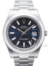 Rolex Datejust II Niebieski/Stal