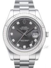Rolex Datejust II Szary/Stal