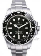 Rolex Sea-Dweller Czarny/Stal