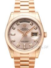 Rolex Day-Date 36 Różowy/18 karatowe różowe złoto