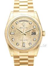 Rolex Day-Date 36 Szampański/18 karatowe żółte złoto
