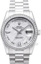 Rolex Day-Date 36 Srebrny/Platyna