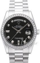 Rolex Day-Date 36 Czarny/Platyna