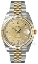 Rolex Datejust41 Żółte złoto/18 karatowe żółte złoto Ø41 mm