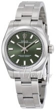 Rolex Oyster Perpetual 26 Zielony/Stal