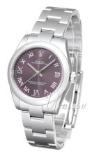 Rolex Oyster Perpetual 31 Purpurowy/Stal