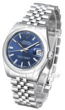 Rolex Datejust 31 Niebieski/Stal