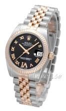 Rolex Datejust 31 Czarny/Stal