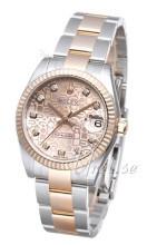 Rolex Datejust 31 Różowy/Stal