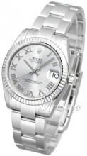 Rolex Datejust Midsize Srebrny/Stal