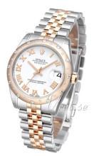 Rolex Datejust 31 Biały/Stal