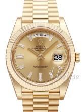 Rolex Day-Date 40 Szampański/18 karatowe żółte złoto