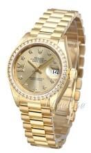 Rolex Lady-Datejust 28 Żółte złoto/18 karatowe żółte złoto Ø28 m