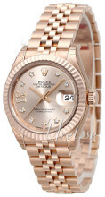 Rolex Lady-Datejust 28 Różowe złoto/18 karatowe różowe złoto Ø28