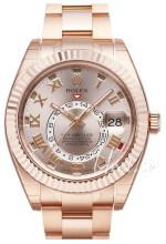 Rolex Perpetual 42 Różowe złoto/18 karatowe różowe złoto Ø42.00