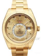 Rolex Sky-Dweller żółte złoto/18 karatowe żółte złoto Ø42 mm