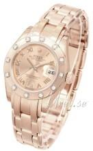 Rolex Pearlmaster 29 Szampański/18 karatowe różowe złoto
